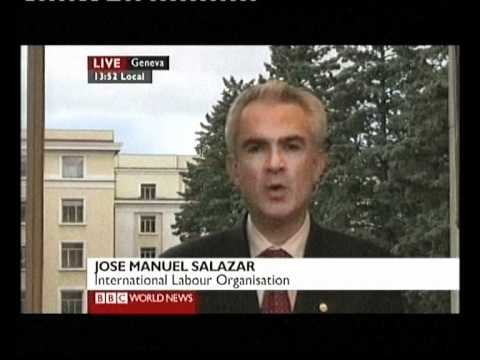 BBC World News Reports on Global Youth Unemployment