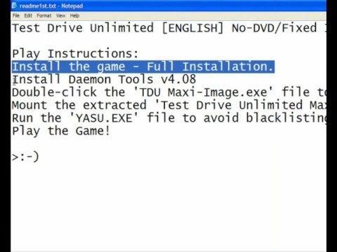 Test drive unlimited 2 скачать crack test drive unlimited 2. Установ