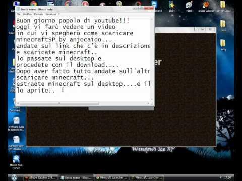 -1° Tutorial-Come scaricare minecraftSP by AnjoCaido!!!