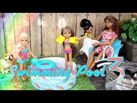 How To Make A Doll Swimming Pool Doll Crafts How To Save Money And Do It Yourself