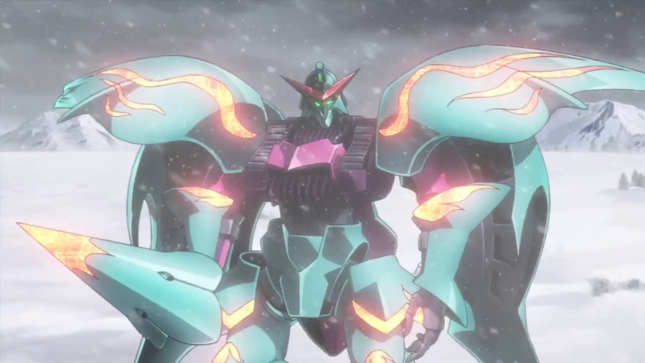 Gundam build fighters episode 20 review qubeley papillon for Domon in gundam build fighters