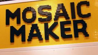 LEGO Mosaic Maker at LEGO Flagship Store London