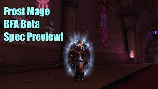 Frost Mage BFA Preview: Baby it's Cold Outside!