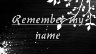 Watch Keri Noble Remember My Name video