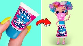 Never Too Old For Dolls / 5 DIY Barbie Doll Candy Outfits