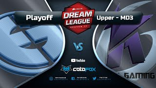 [PT-BR] Evil Geniuses Club vs  Keen Gaming - DreamLeague 11 - Dota 2 Major