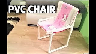 How to Make Kids chair with PVC pipes