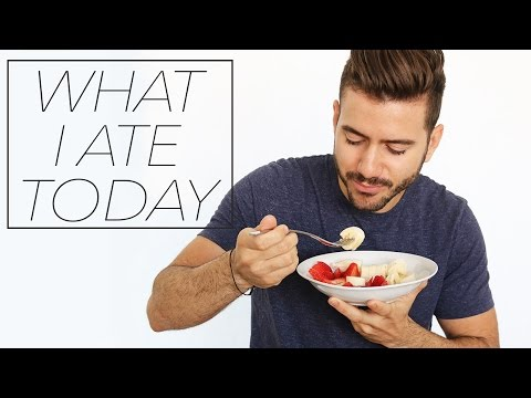 WHAT I ATE TODAY | MEN'S DIET | Healthy lifestyle & Easy meal ideas | Alex Costa