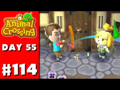 Animal Crossing: New Leaf - Part 114 - Best Day Ever! (Nintendo 3DS Gameplay Walkthrough Day 55)