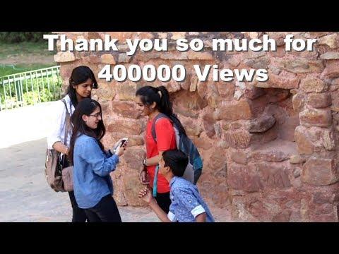 14 year old kid proposing girls in public | Prank in India 2017  | New Prank 2017 India thumbnail