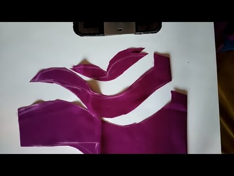 Easy Blouse Designs Back Neck Cutting and Stitching ll Beautiful Blouse Designs At Home