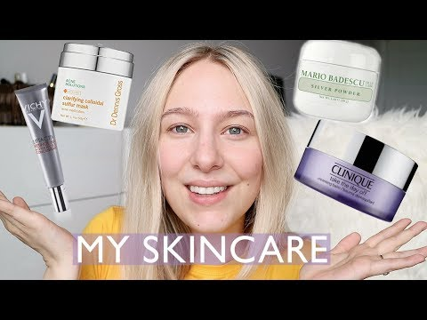 MY SKINCARE FAVOURITES! ACNE, AGING, OILY, TEXTURE...