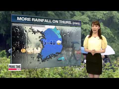 More sporadic showers, thunder forecast tomorrow