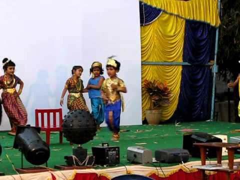 Gallu Gallenutha Childrens Dance At Anweshana video