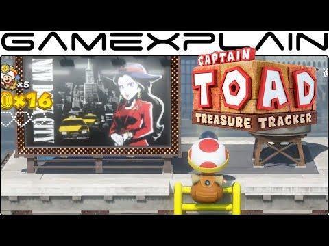 Captain Toad: Treasure Tracker - Gameplay Trailer (Nintendo Switch - JP)