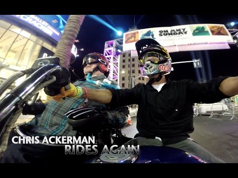 Chris Ackerman Rides Again