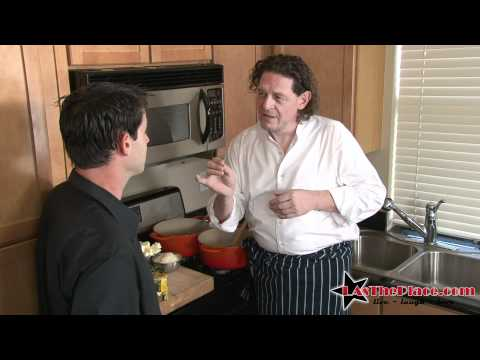Chef Marco Pierre White creates Asparagus Risotto with Knorr