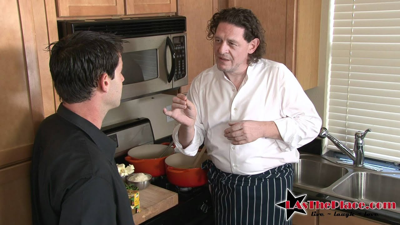 Chef Marco Pierre White creates Asparagus Risotto with Knorr - YouTube