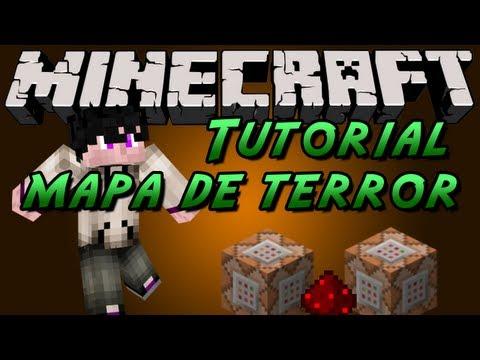 Minecraft Tutorial: COMO HACER UN MAPA DE TERROR! [Tip 1.6.4/1.7+]