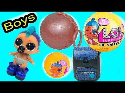 Куклы лол 3 серии 2 волна ЗОЛОТОЙ ШАР ЛОЛ маленькие сестрички МАЛЬЧИК Редкая кукла | TOYS AND DOLLS
