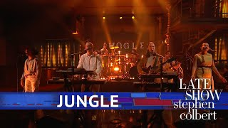 Jungle Perform 'Smile'