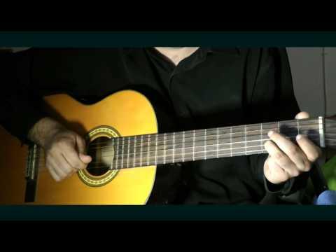 Видеоурок Цыганочка на гитаре - видео