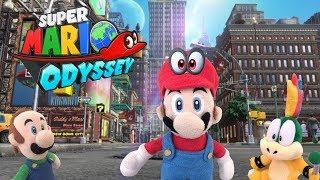 MarioPlushRandomness- Super Mario Odyssey!
