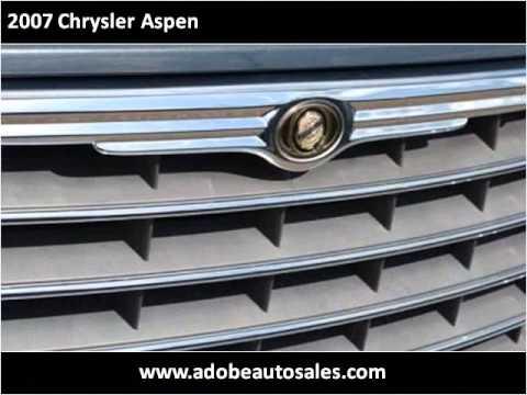 2007 Chrysler Aspen Used Cars Lubbock TX