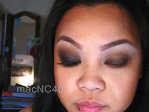 Smokey Kim Kardashian inspired makeup tutorial