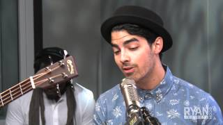 Jonas Brothers Cover Frank Ocean s Thinking About You Performance On Air with Ryan Seacrest