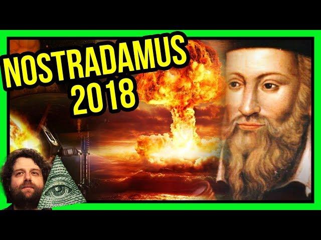 Nostradamus Przepowiednie na 2018 - Rok Wielkiego Przełomu - Spiskowe Teorie