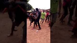 See the people of Wassa Wuratrem dance Feewoto and one corner  song.