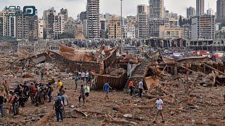 إصابات ودموع ودمار.. انفجار بيروت يفجع كبار نجوم لبنان