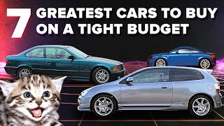 The 7 Greatest Cars You Can Buy On A Seriously Tight Budget