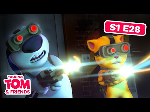 Talking Tom and Friends - Ghost Pirate Hunting (Season 1 Episode 28)