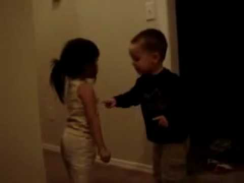 Cute Little Kids Arguing