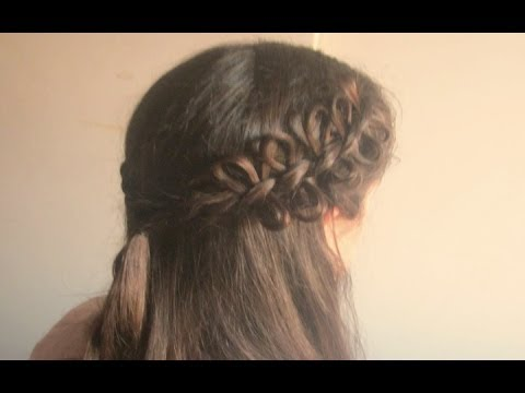 Trenza con lazo/ Bow braid