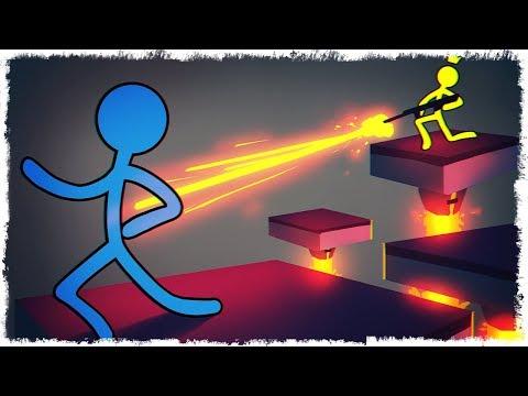 ЧЕЛОВЕЧЕК vs ЛАВА В STICK FIGHT THE GAME!!!