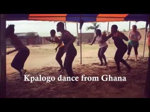 African Dance - Kpalogo Dance from Ghana