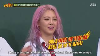 FUNNY Savage Hyoyeon on Knowing Brothers