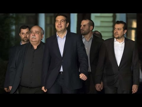 Rejecting Austerity, Greece Squares Off with Its Creditors & Risks Future in Eurozone