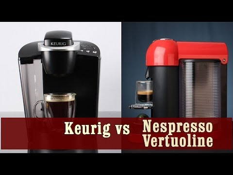 Keurig Coffee Maker Vs Nespresso Vertuoline Coffee And Espresso Machine