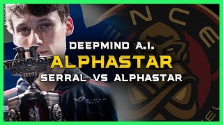 Serral vs Alphastar [ZvT] Deepmind A.I. Starcraft 2