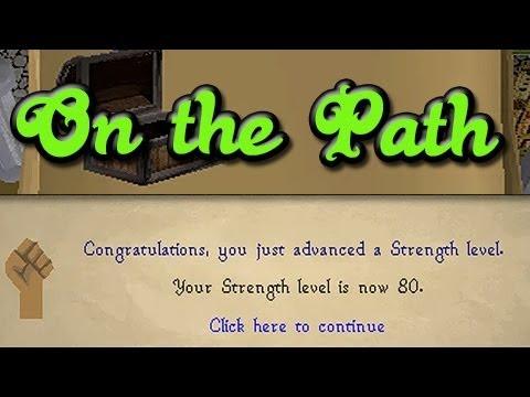 Runescape 2007 – Gettin' Levels! So Wreck3d's Strength and Slayer Progress