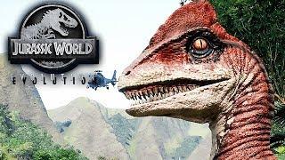 Jurassic World Evolution Gameplay German #09 - Raptoren entdeckt