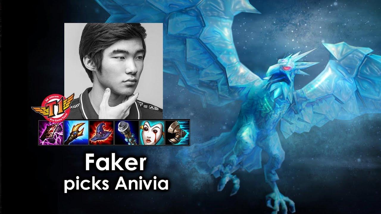 Những pha highlight Anivia trong tay Faker