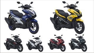 2017 Yamaha Aerox 155 come with 6 Colors Variant