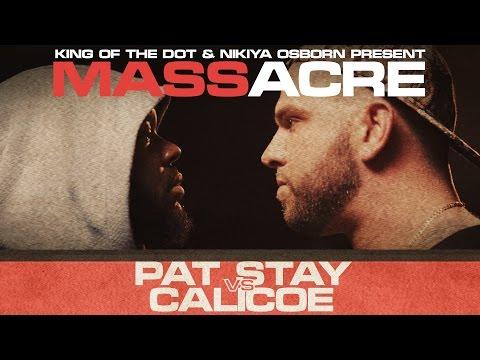 KOTD - Rap Battle - Pat Stay vs Calicoe