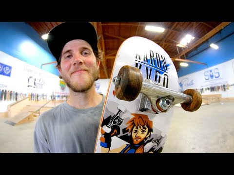 SHATTERING WOODEN WHEELS | YOU MAKE IT WE SKATE IT EP.