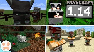 EVERYTHING in Minecraft 1.14 Village & Pillage!